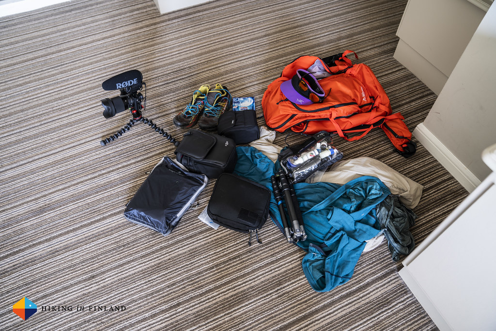 All my hiking kit