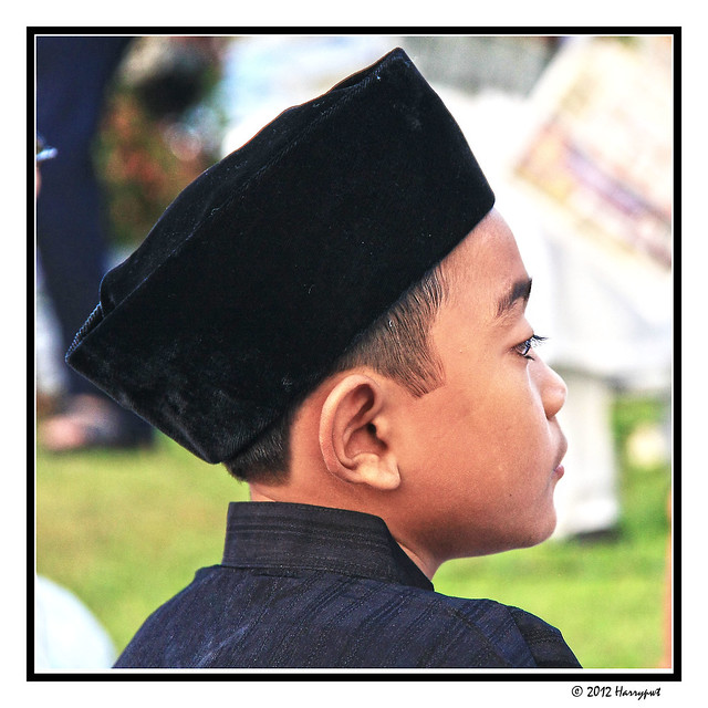 capped young santri