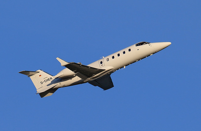 Heron Aviation / Learjet 60 / D-CHER