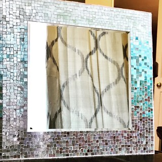 Ohmbre Mosaic Mirror-Sangie