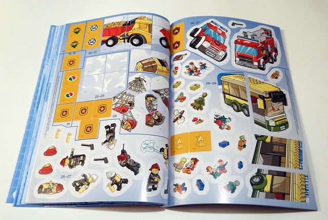 LEGO® City. 1001 naklejek. Supermaszyny (6)