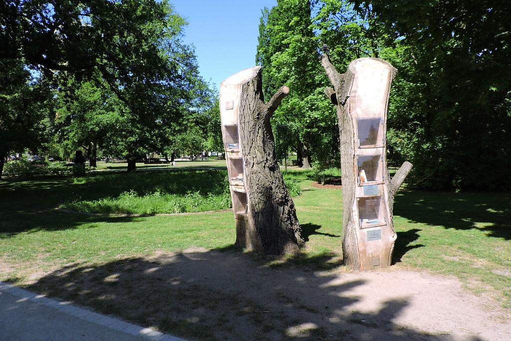 Arbre-bibliothèque de Bydgoszcz
