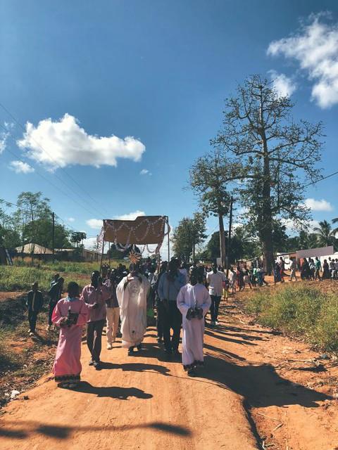Corpus Christi na África