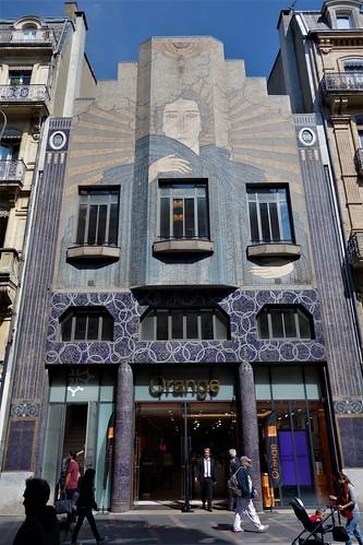Art Deco Facade - Toulouse, France