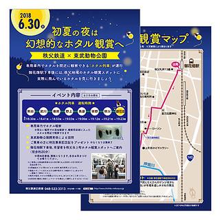 6/30(土)開催☆初夏の夜は幻想的なホタル観賞へ