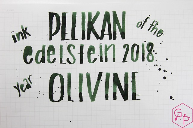 Pelikan Edelstein Olivine Ink Review @AppelboomLaren @Pelikan_World 8