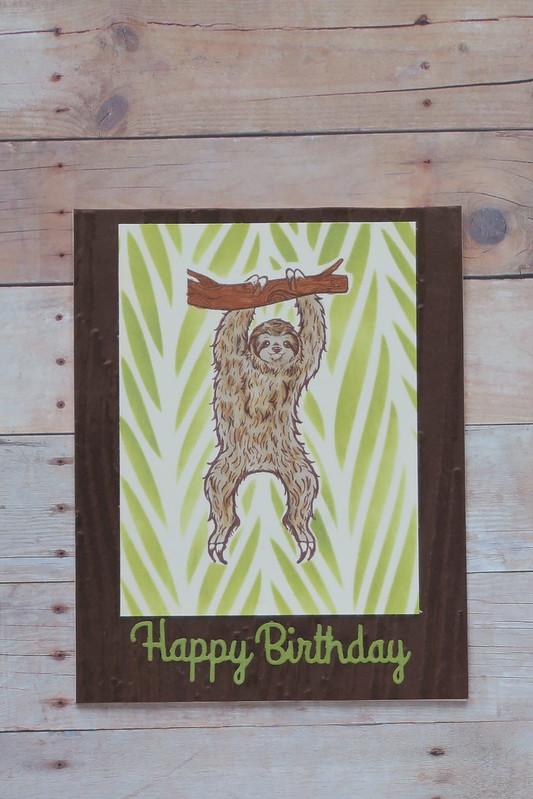 Sloth Birthday