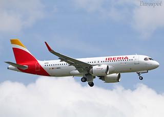 F-WWDE Airbus A320 Néo Iberia