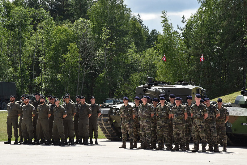 Strong Europe Tank Challenge 18 Opening Ceremony