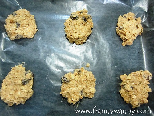 #frannycooks oatmeal cookies
