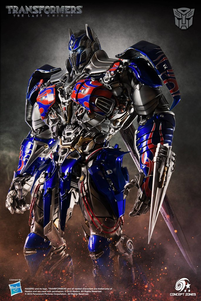 Prime of the Century! M3 Studio x Concept Zones Transformers: The Last Knight Optimus Prime Statue