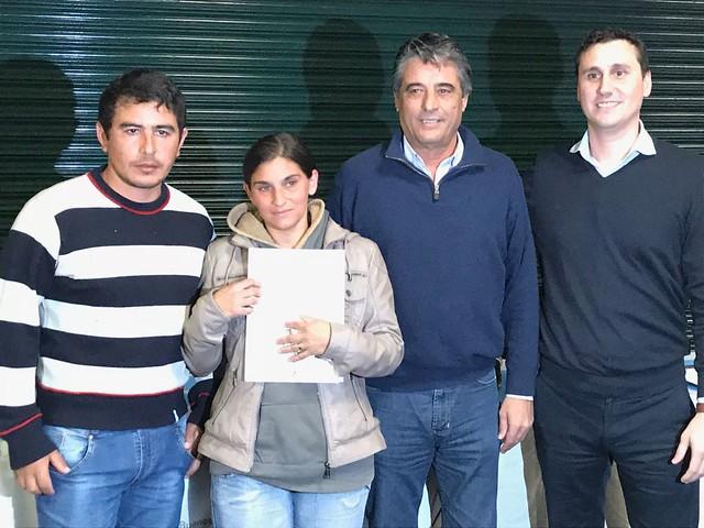 Entrega de Viviendas en Salvador María