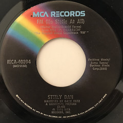 STEELY DAN:FM(NO STATIC AT ALL)(LABEL SIDE-A)