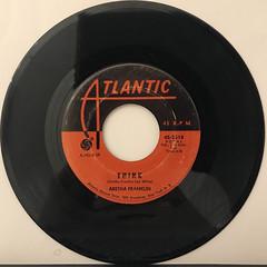 ARETHA FRANKLIN:THINK(RECORD SIDE-A)