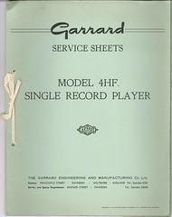 Garrard TechEng Service Manual 4HF