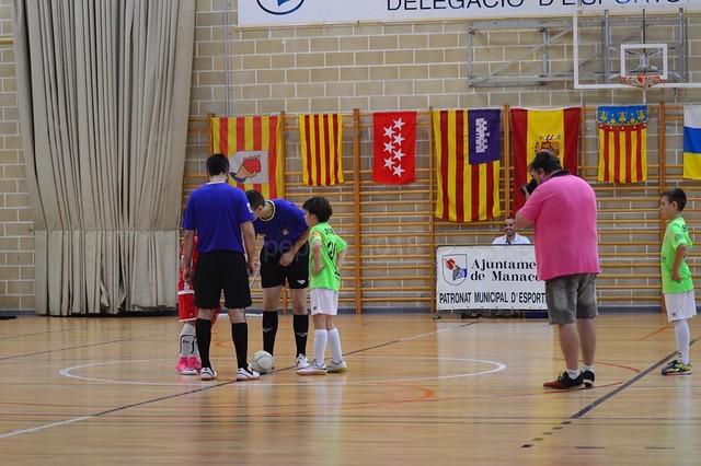 campeonato de españa benj. futsal sabado