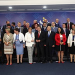 High-level conference, dedicated to the EU cohesion policy: Family photo