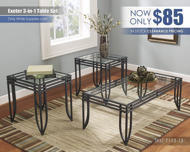 Exeter 3-in-1 Table Set_CLEARANCE_T113-13-SD