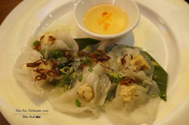 Things to Eat in Hoi An - Banh Bao Vac (White Rose Dumplings)