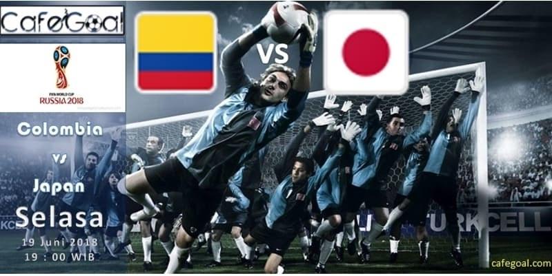 Prediksi Bola Colombia  vs Japan, Hari Selasa, 19 June 2018 – Piala Dunia