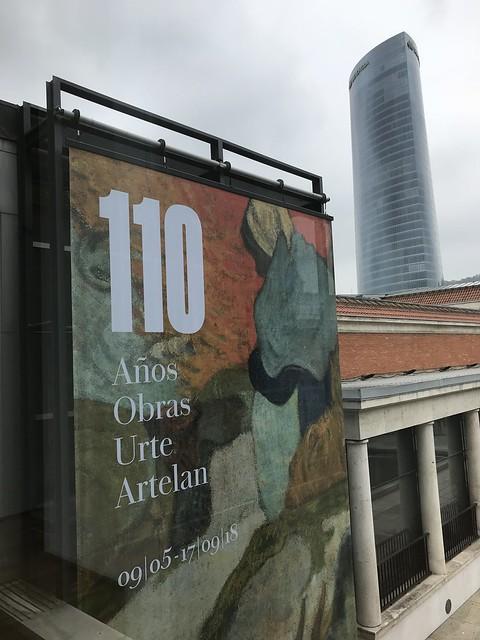 110 Años / 110 Obras. Museo de Bellas Artes de Bilbao.