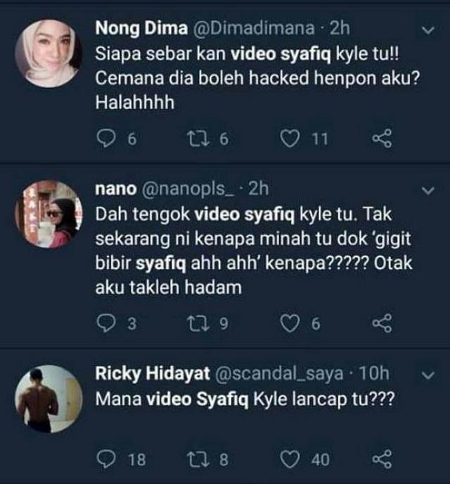 Betul ke Video Syafiq Kyle Beronani Tersebar