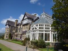 Bodnant Garden buildings