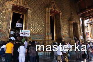 ワットプラケオの神殿入口