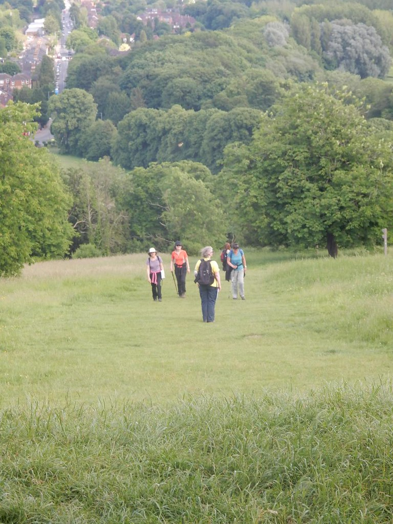 The others catch me up. Come on, we haven't got all day! Saunderton Circular via West Wycombe