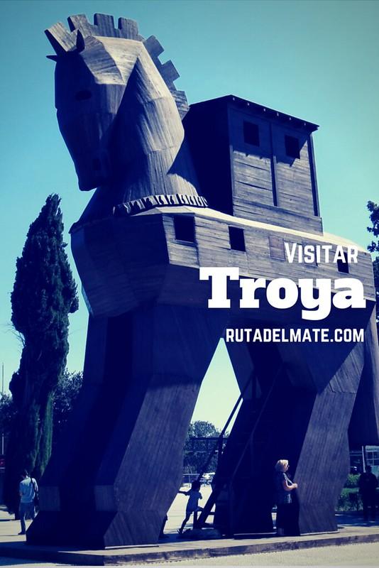 Como llegar a Troya