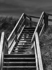 Sylt dune bridge