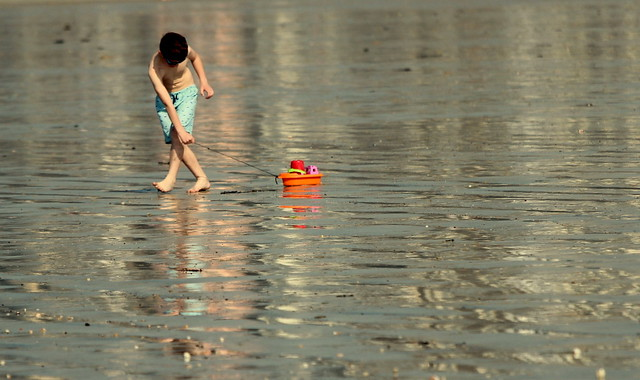 Walking on water, Canon EOS 600D, Canon EF 70-200mm f/4L IS