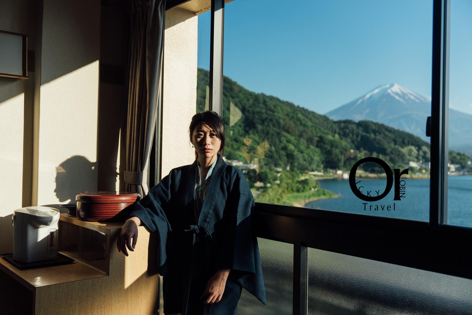 日本富士山住宿|河口湖美富士園,座落河口湖,傍晚來個湖邊散步欣賞富士山,享受傳統日式溫泉酒店