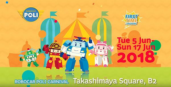 Robocar Poli Carnival Takashimaya 2018