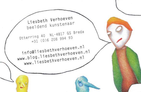BusinessCardLiesbethVerhoeven
