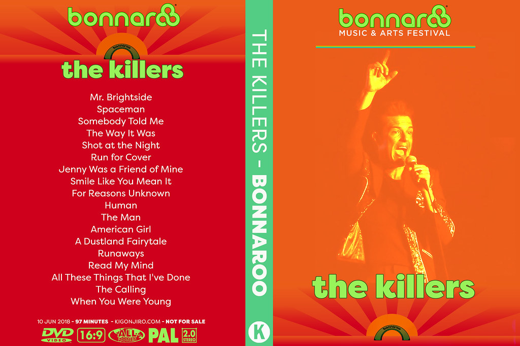 The Killers - Bonnaroo 2018
