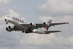 A380 A7-APF London Heathrow 15.06.18