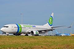 Transavia PH-HSC Boeing 737-8K2 Winglets cn/34173-3266 @ Taxiway Q EHA