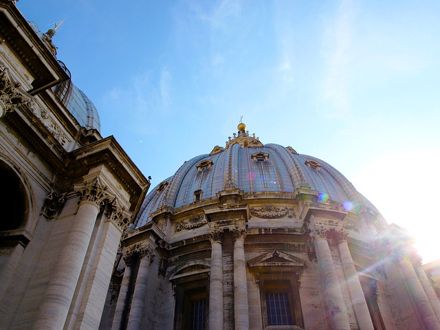 The Vatican City Dome