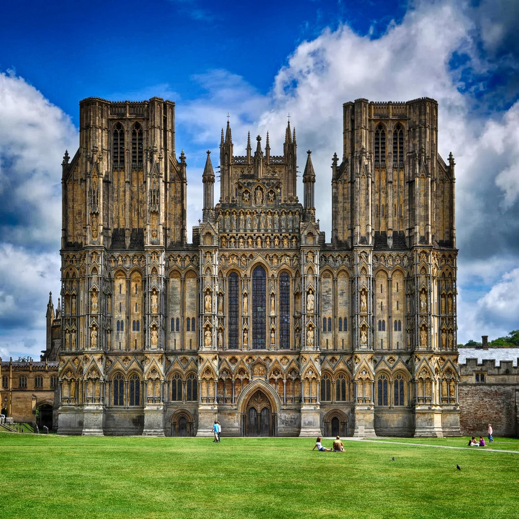 Wells Cathedral, Wells, Somerset. Credit seier+seier