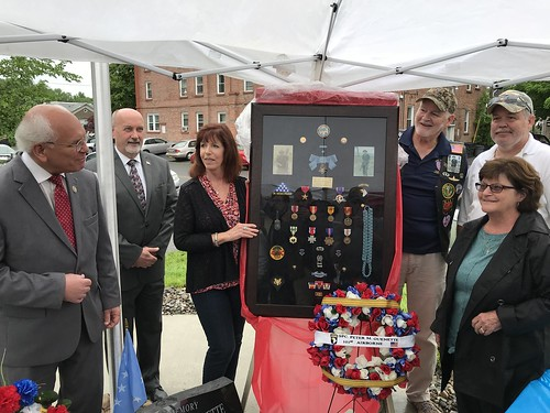 Troy Housing Authority Memorial Unveiling for Sp4c Peter Guenette