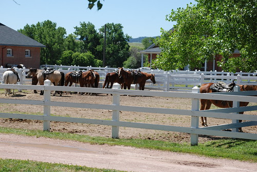 Fort Robinson Horse Stables. From History Comes Alive: Eight Noteworthy Places to Stay