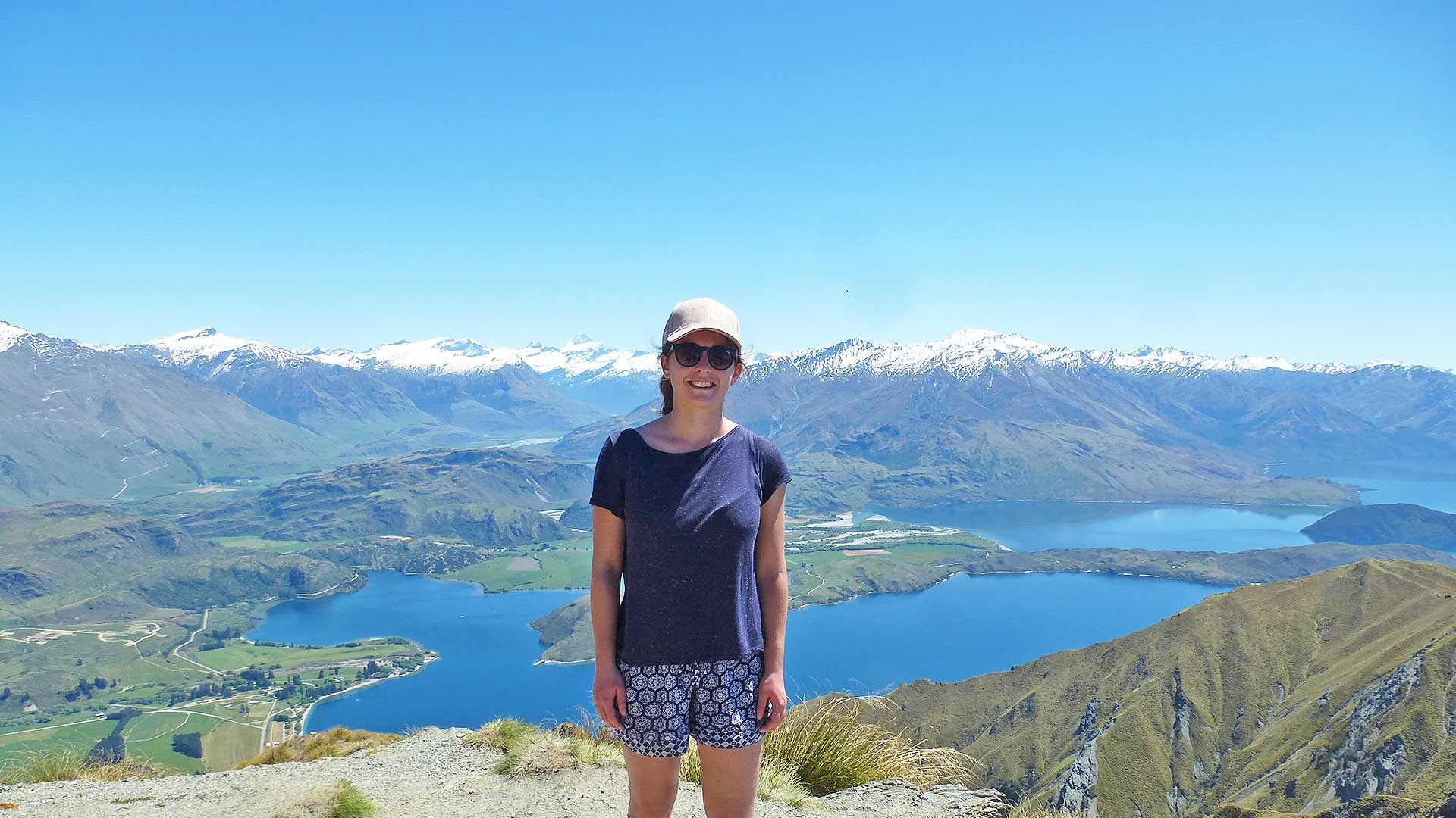 Student Laura Clark on placement in New Zealand