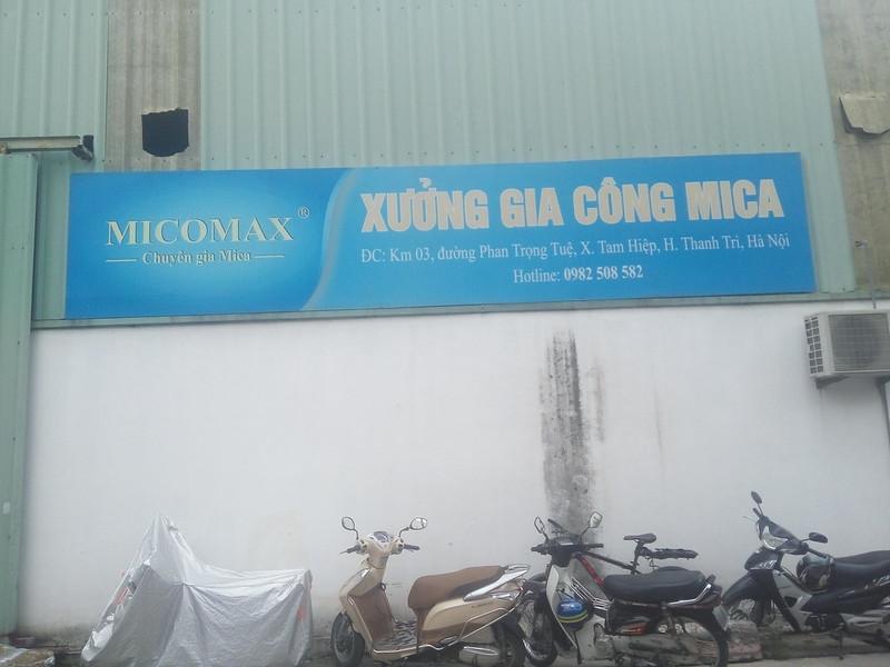 Đặc điểm nhận dạng xưởng gia công Mica