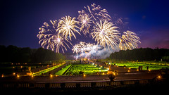 Fireworks at the Vaux-le-Vicomte IV, Maincy, 20180609