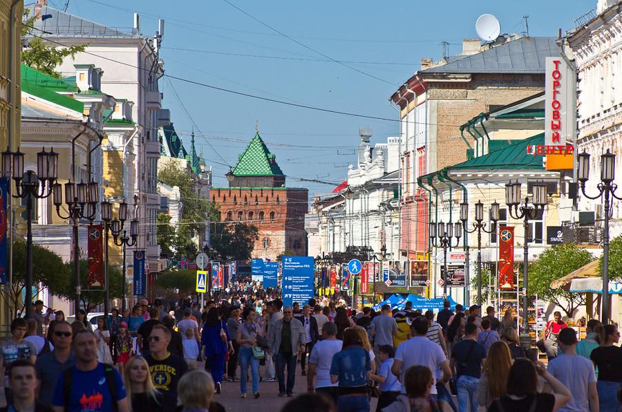 Москва - Казань по воде. День 4 - Нижний Новгород