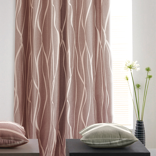 木影仿麻雙面緹花三明治 森林風格 簡約風格 樹紋 防光(遮光)窗簾布 DA1990042