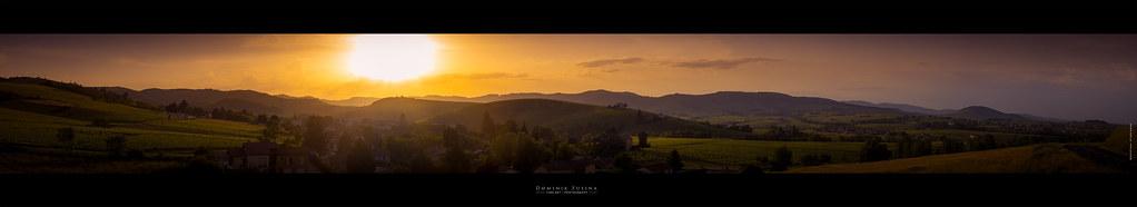 Sunset | Beaujolais (France)