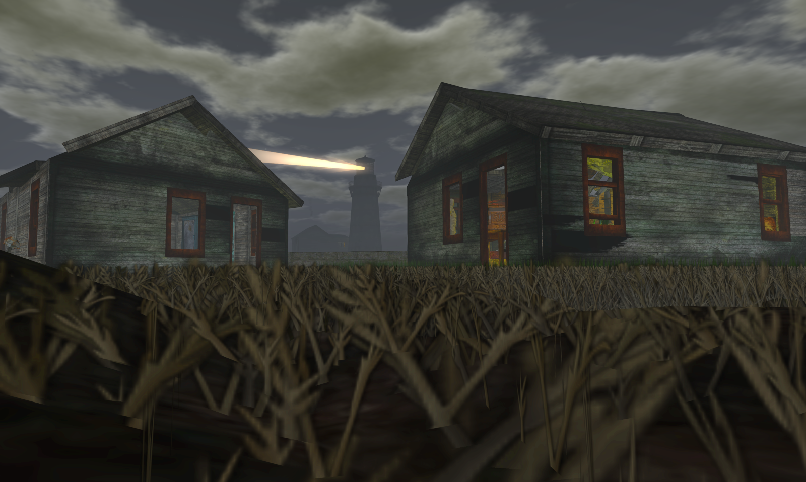 Two houses in Innsmouth