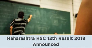 Maharashtra HSC 12th Result 2018 Announced